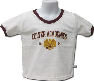 Culver Eagles Retro Youth Ringer Tee