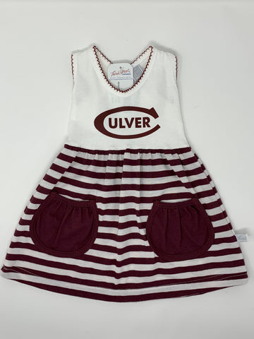 Culver Toddler Striped Dress