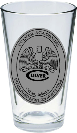 16oz Culver Mixing Glasses - CA, CMA, Girls, CSSC