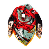 rudo, matla, silk, scarf, hand made, fashion, design