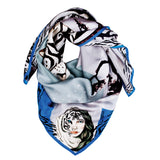 tove, matla, silk, scarf, hand made, fashion, design , ipek şal