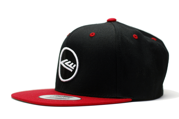 CIRFIT Logo Snapback - Black/Red