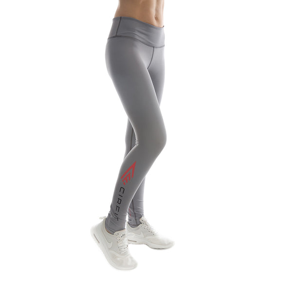 "Women's CIRFIT ""Logo""  Leggings - Gray"