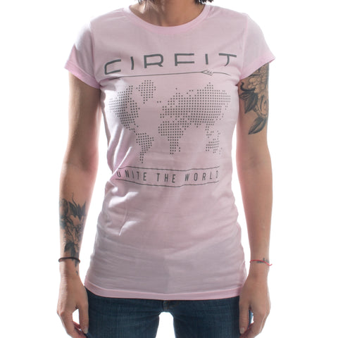 Women's CIRFIT Map Tee - Light Pink