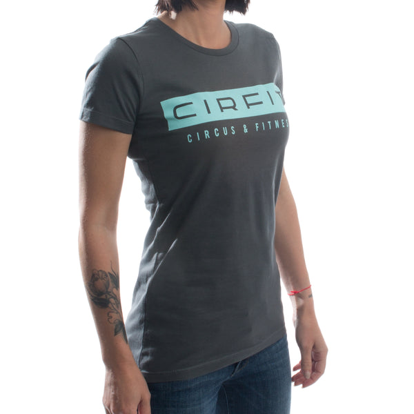 Women's CIRFIT Stamp Tee - Dark Gray