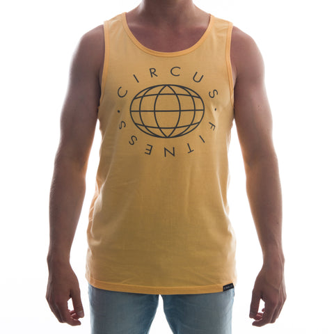 "CIRFIT Men's ""Globe"" Tank Top - Sqash"