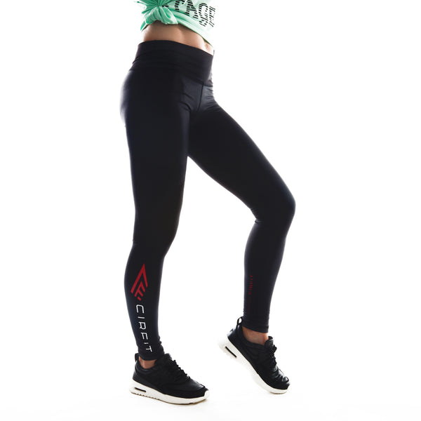 "Women's CIRFIT ""Logo""  Leggings - Black"