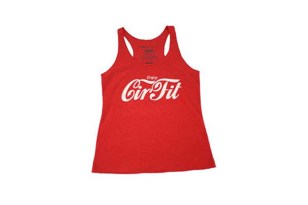 "CIRFIT Woman's ""Coca Cola"" Tank Top - Red"
