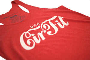 "Woman's ""Coca Cola"" Tank Top - Red"