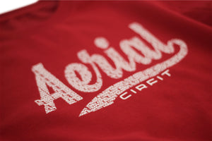 """Aerial"" Sweat Shirt - Red"