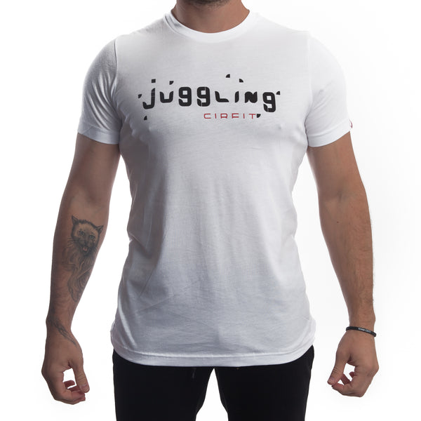 "CIRFIT Men's ""Juggling"" Tee - White"