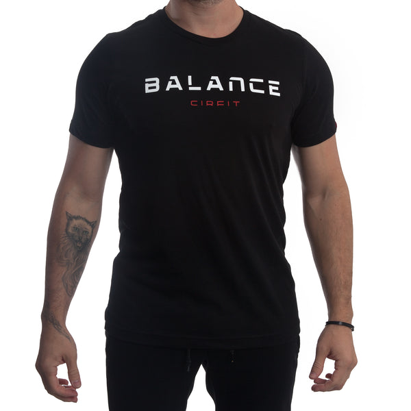 "CIRFIT Men's ""Balance"" Tee - Black"