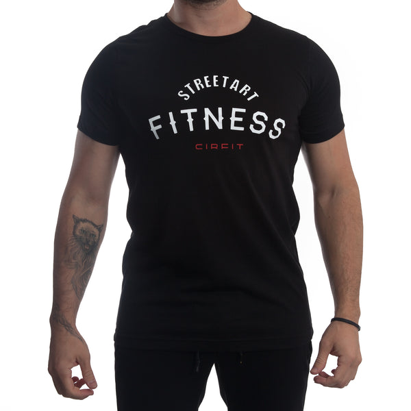 "CIRFIT Men's ""Fitness"" Tee - Black"