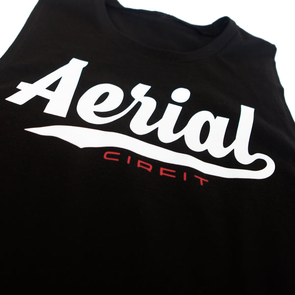 "CIRFIT Women's ""Aerial"" Muscle Tee - Black"