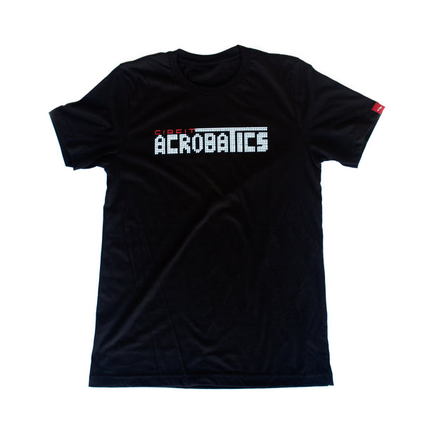 "CIRFIT Men's ""Acrobatics"" Tee - Black"