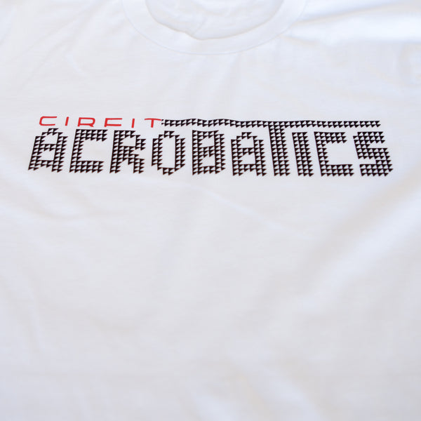 "CIRFIT Men's ""Acrobatics"" Tee - White"
