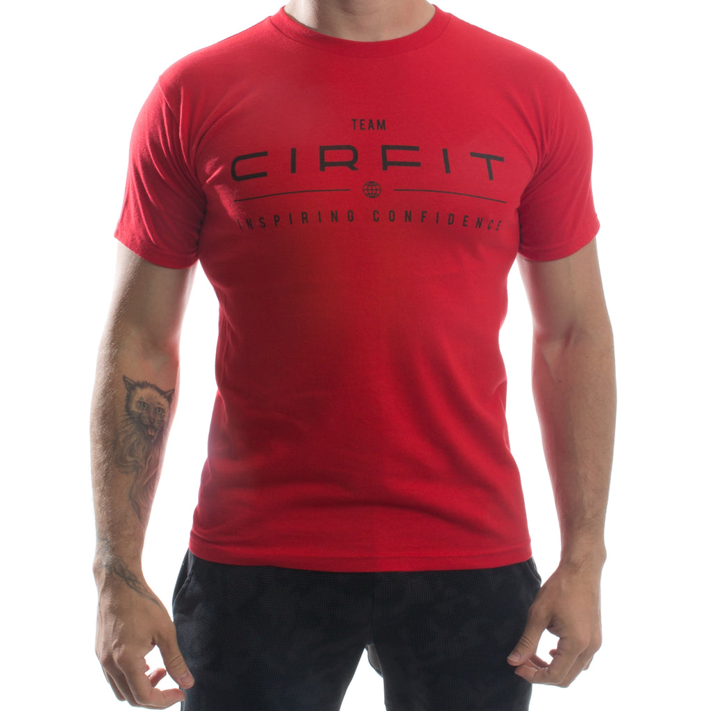 CIRFIT Team Logo Tee - Red/Black