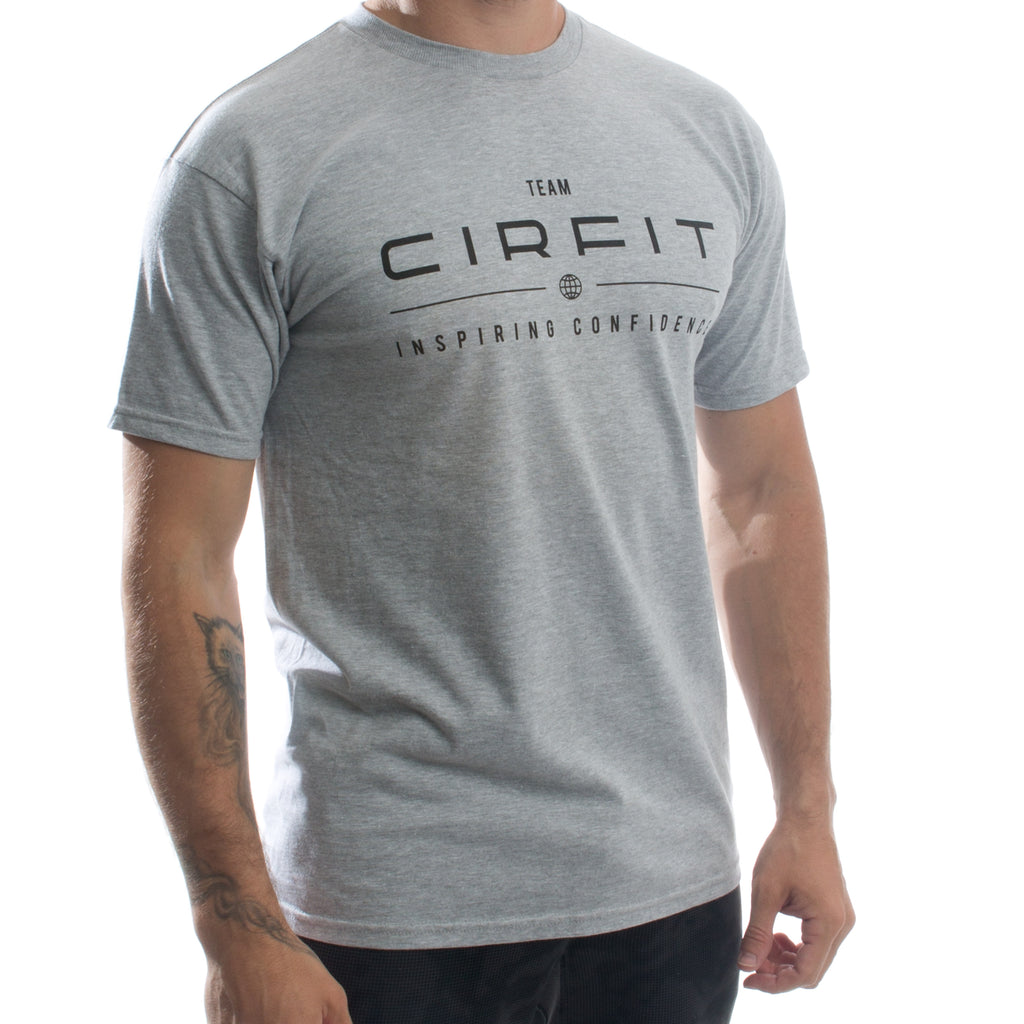 CIRFIT Team Logo Tee - Gray/Back