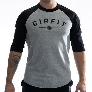 """Original"" 3/4 sleeves - Gray/Black"