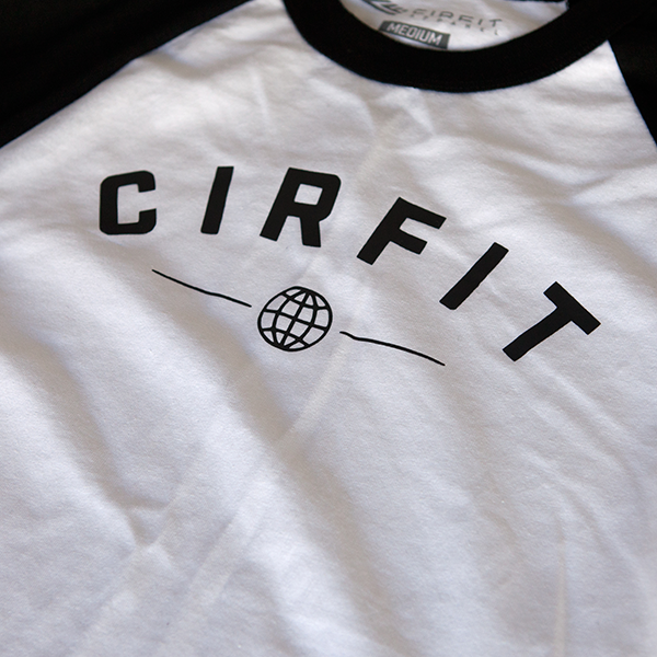 "CIRFIT ""Original"" 3/4 sleeves - White/Black"