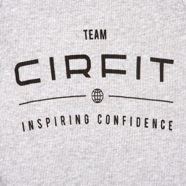 Women's CIRFIT Team Tank - Gray/Black