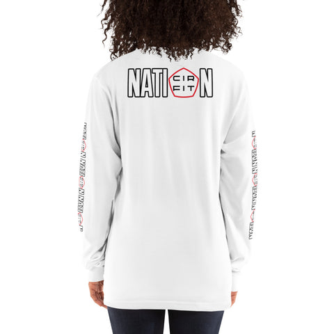 """Nation"" Long sleeve"