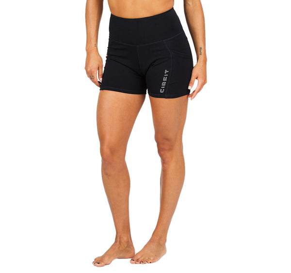 "Women's CIRFIT ""Red Line""  Shorts - Black"
