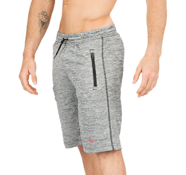 "Men's CIRFIT ""Zip pocket""  Shorts - Gray"