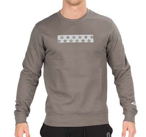 "CIRFIT ""Stars"" Sweat Shirt - Charcoal"