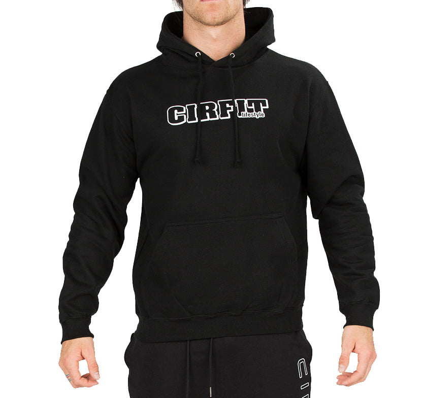 CIRFIT Men's Stylish Hoodie - Black