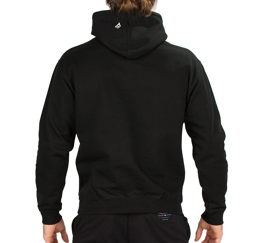 Men's Stylish Hoodie - Black