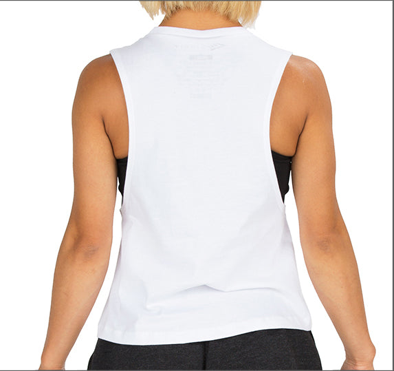 "Women's ""Signature"" Crop - White"