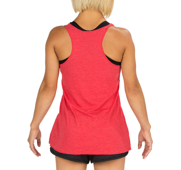 "CIRFIT Women's ""Map"" Tank - Red"