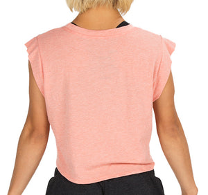 "Women's ""My Wings"" Crop - Sunset Trebled"