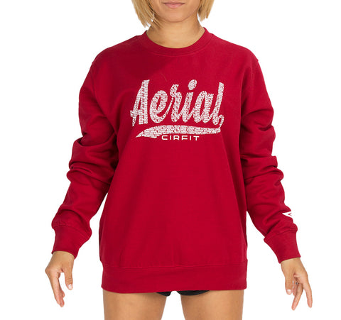 "Copy of CIRFIT Women's ""Aerial"" Sweat Shirt - Red"
