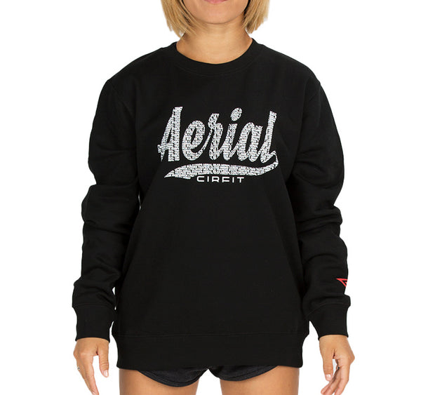 CIRFIT Women's Aerial Sweat Shirt - Black