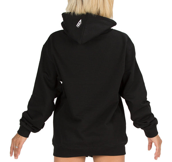 CIRFIT Women's Stylish Hoodie - Black