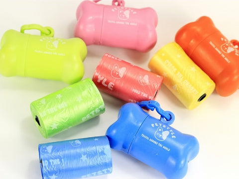 Poop Bag Case For Puppies, Perfect For Travel, Cute and Colorful