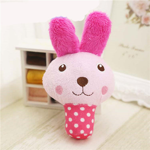 Fun Animal Designs Plush Squeaker Toy, Comes In 6 Adorable Styles