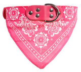 One-Of-A-Kind Scarf Dog Collar, Comes in Various Colors and Sizes