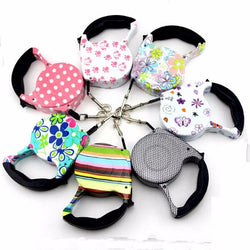5M Automatic Retractable Dog Leash, Cute and Colorful Designs