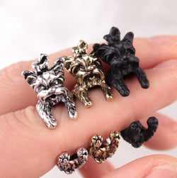 FREE Cuddly Yorkshire Terrier Ring,  *LIMITED OFFER*