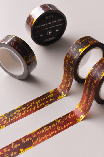 Another in the Fire Washi Tape