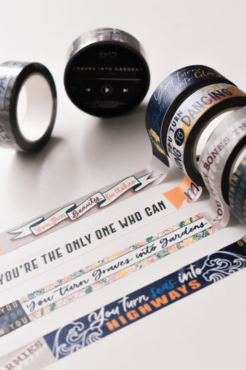 Graves into Gardens Twin Washi Tapes