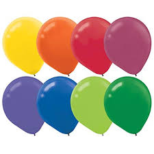 Latex Balloons (Assorted Colors Available)