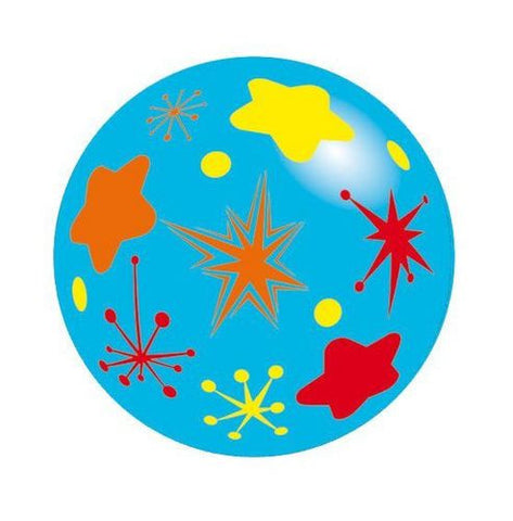 Inflate-A-Ball - Blue Ball with Stars