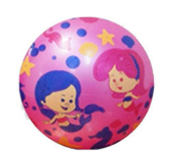 Inflate-A-Ball - Pink Ball with Mermaids