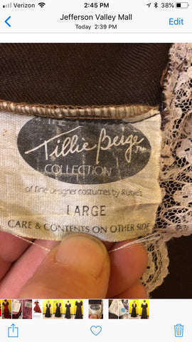 Rubie's Costume Company - The Tillie Beige Collection - Amish Lady