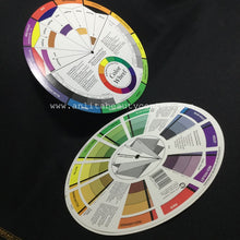 Mixing Guide Color Wheel