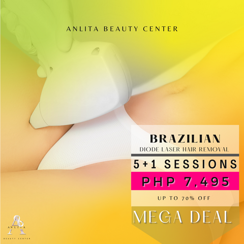 MEGA DEAL - BRAZILIAN DIODE LASER HAIR REMOVAL
